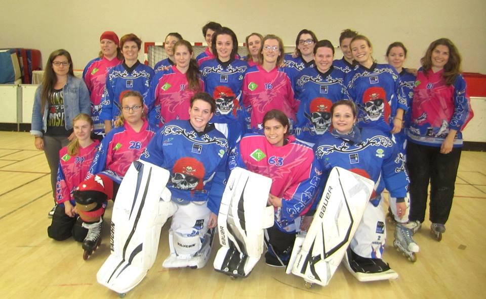 Equipes féminines d'Angers et Rennes