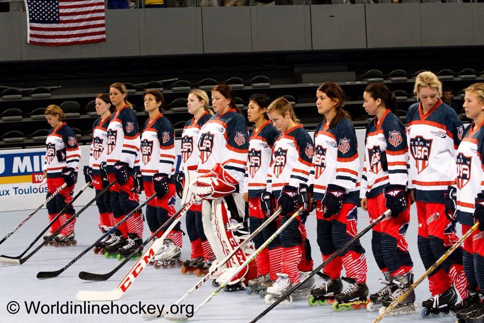 Elisa Pogu - Team USA - Photo world inline hockey