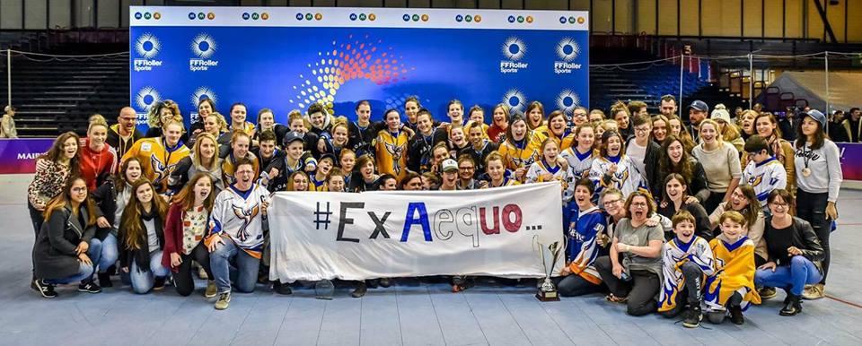 ExAequo ! Merci à Laura Flessel, ministre des Sports, pour sa visite. Photo Ludovic Macia